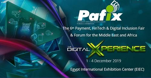 انطلاق الدورة السادسة من معرض ومؤتمر التكنولوجيا المالية والشمول الرقمي PAFIX  في ديسمبر