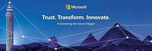 Microsoft to bring message of 'Trust, Transform, Innovate – for the future of Egypt' at Cairo ICT 2019