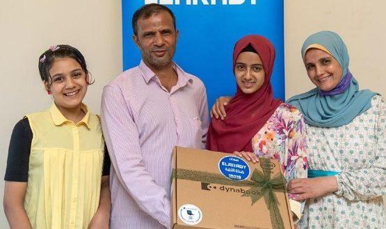العربي جروب تكرم علا أحمد الأولى على الثانوية العامة ابنة أحد الموظفين بالمجموعة